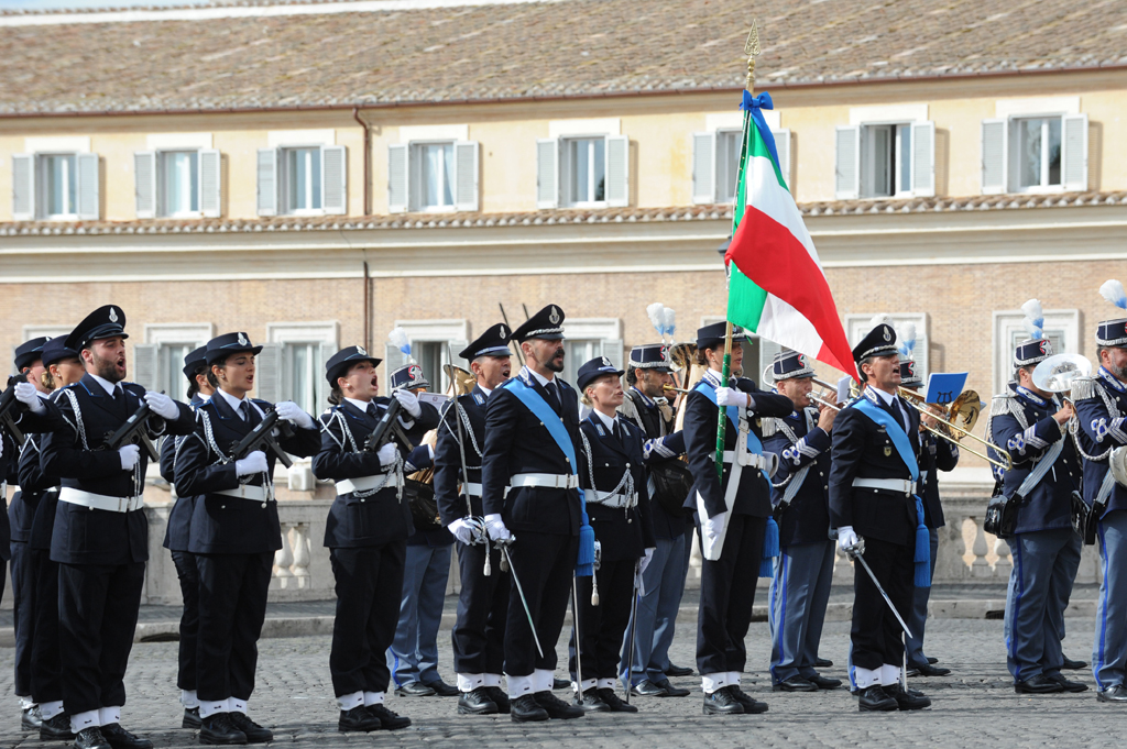 Cambio Guardia d'Onore
